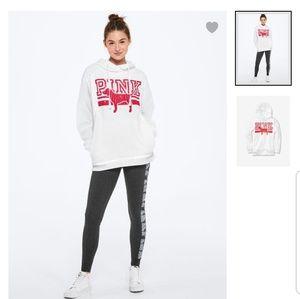 VS PINK rhinestone bling pullover hoodie